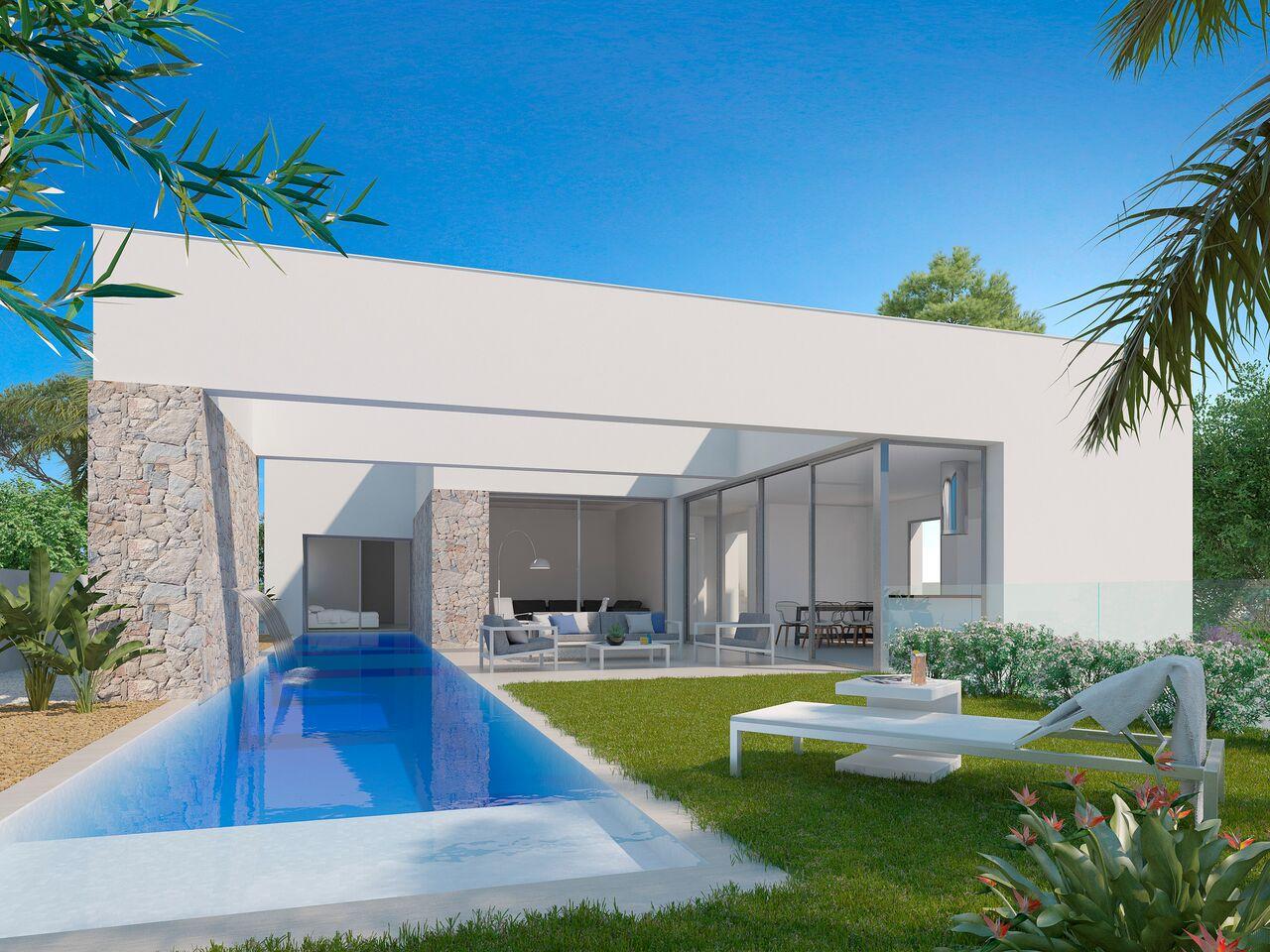 moderne nieuwbouw villa in Valencia